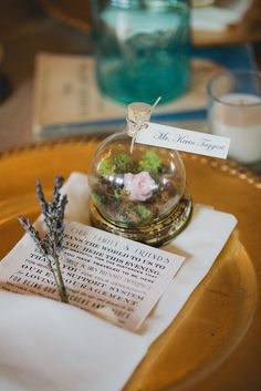 Southern wedding - mini terrariums