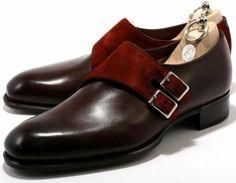 - MTO Monk Double Monk Strap is my favorite!Sargent - MTO Monk Double Monk Strap is my favorite! Hot Shoes, Men S Shoes, Men Dress, Dress Shoes, Gentleman Shoes, Fashion Shoes, Mens Fashion, La Mode Masculine, Monk Strap Shoes