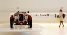 A 1934 Fiat 508 Coppa d'Oro (Gold Cup) is on display at the Museo Casa Enzo Ferrari in Modena, Italy. (Alessandro Bianchi/Reuters) - Lonely Planet Magazine