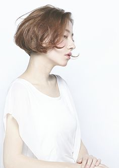 Trendy Ideas For HairStyles 2018 ボブ ヘア Hair A, Love Hair, Short Hairstyles For Women, Girl Hairstyles, Hairstyles 2018, Shot Hair Styles, Nouveau Look, Heart Hair, Color Your Hair