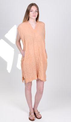 cotton crescent dress by atelier delphine ss17