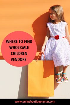 Are you looking to start an online children boutique or kids store? Get the best, trendy wholesale vendors for babies, infants, kids and pre-teens in this wholesale vendor list. Top-ranked vendor list on google and access to over 30+ vendors. #whollesale #wholesalevendors #childrenfashion #kidsfashion #wholesalechildrenvendors #wholesalevendorsforkids #fashion #kidstyle #fashionablekids #onlineboutique #boutique Wholesale Fashion, Wholesale Clothing, Wholesale Companies, Children's Boutique, Kids Store, Kid Styles, Infants, Online Boutiques, Fashion Brands