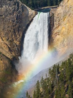 Rainbow on Lower Falls of the Yellowstone by Kenneth Keifer on 500px