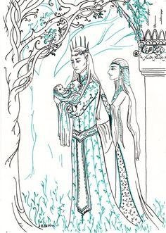 The royal family by vilena68.deviantart.com