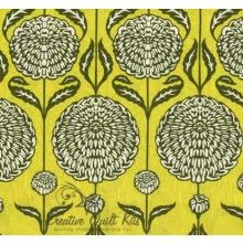 Sage Chrysanthemum Bloom, Birch Farm by Westminster Fabrics & Joel Dewberry