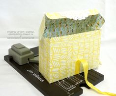 INTRODUCING the GIFT BAG PUNCH BOARD - Yellow Box 2