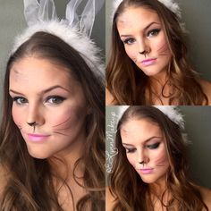 Rabbit Face Makeup | ve included some great party suggestions on ...