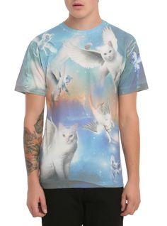 4e1798b89 Flying Cats T-Shirts   Hot Topic Hot Topic Shirts, Cool Shirts, Visual