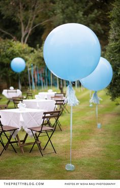 We absolutely adore this baby shower! With the teddy bear and rocking horse theme, it's oh-so-fitting to celebrate the anticipation of welcoming a baby boy!
