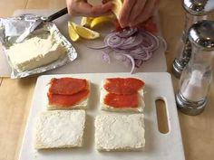 About.com ~ How to Make 4 Popular Tea Sandwiches: Including the ever popular cucumber sandwich - YouTube