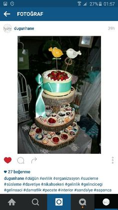 #cupcake #kurabiye #gelinlik #kinagecesi #nisantepsisi #nikahsekeri #organizasyon #gelin #bride #hediye #evlilik #ceyiz #englishhome #dekorasyon #rustic #pasta #cake #birds #keçe #fiyonk