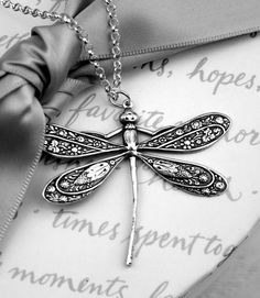 Finding Neverland | chasingrainbowsforever: Dragonfly Pendant