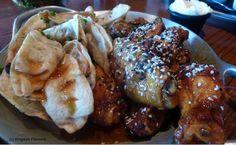 'Ohana pork potstickers and asian chicken wings (Walt Disney World)