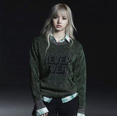 """[IG] 170111 n_nona9on: #NONAGON #SS17#NEVEREVER #Metallic #KnitPullover#LISA """