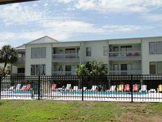 View of condo from pool, Sea Oats complex, Gulf Shores, AL