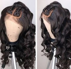 Preplucked Bleached Knots Loose Wave Lace Wigs with pony tail Brazilian human virgin hair wigs for black women Cheap Human Hair, Human Hair Lace Wigs, Remy Human Hair, Remy Hair, Wig Styles, Curly Hair Styles, Natural Hair Styles, Short Styles, Short Curly Wigs