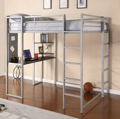 Sleep and Study - IKEA TROMSO Loft Bed - mom.me