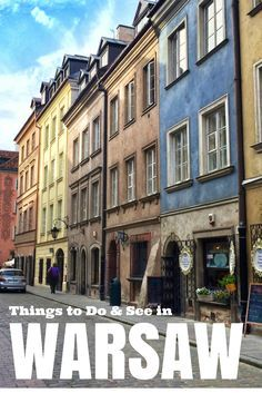 Things to Do, See & Eat in Warsaw, Poland,  Click on the pin to read the post from www.flrtingwiththeglobe.com