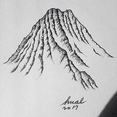 #art #drawing #illustration #mountains