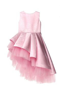 Pink flower girl dress with amazing floral pattern with an asymmetrical skirt, Skew tulle Dress, Party Girl Dress, Birthday Girl Dress - Ukraine Flowers Delivery Mint Dress Outfits, Diy Dress, Tulle Dress, Birthday Girl Dress, Girls Party Dress, Birthday Dresses, Dress Party, Pink Flower Girl Dresses, Baby Girl Dresses
