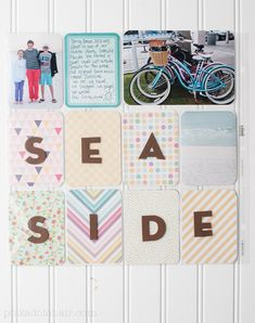 Project Life Pages using @Janet Russell-Snider Crafts new 5th and Frolic Kit exclusive to @Michael Sullivan Stores