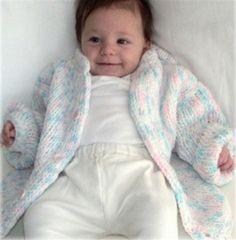 Baby Cardigan AIO Loom pattern
