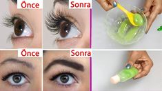 Every lady wants to have perfect eyebrows and long eyelashes. Long eyelashes are Every lady wants to have perfect eyebrows and long eyelashes. Long eyelashes are Long Thick Eyelashes, How To Grow Eyelashes, Thicker Eyelashes, Thick Eyebrows, Perfect Eyebrows, Longer Eyelashes, Shape Eyebrows, Kiss Eyelashes, Eyeliner Shapes