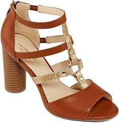 5f72e0f9d6f Liz Claiborne Womens Bahati Heeled Sandals