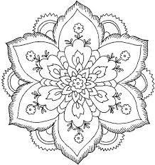 Resultado de imagen para mandalas en blanco y negro para imprimir