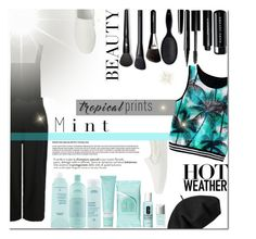 """Mint"" by lifeisworthlivingagain ❤ liked on Polyvore featuring Betmar, Uniqlo, WithChic, Christian Dior, Estée Lauder, KORA Organics by Miranda Kerr, Aveda, Clinique, Bobbi Brown Cosmetics and Marc Jacobs"
