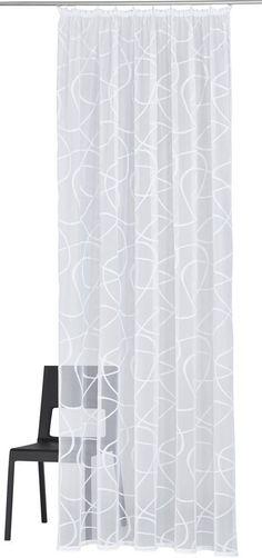 Gardine, my home, »Mirow« (1 Stück) ab 11,09€. Transparenter Stoff, Wirkware in Netzoptik, Leicht glänzend, Leichte Qualität, Grobe Struktur bei OTTO