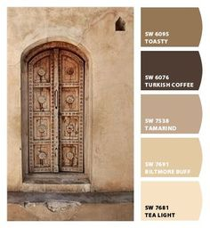beige, black, brown, chocolate, color palette for home, color