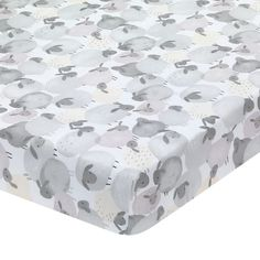 Multicolor Lambs /& Ivy Forever Pooh Fitted Crib Sheet