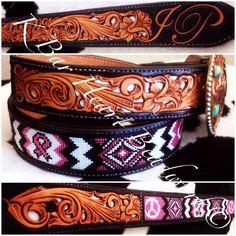 K bar heart beadwork.    Beaded spur straps   Custom made beaded headstalls, beaded tack, beaded headstalls, beaded hatbands, beaded spur straps, beaded bronc halter, beaded belts  Custom cowboy beadwork.   Www.facebook.com/kbarheartbeads