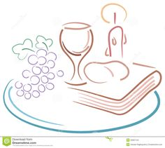 Holy Communion Drawing - Download From Over 40 Million High Quality Stock Photos, Images, Vectors. Sign up for FREE today. Image: 40087104