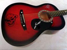 ERIC CHURCH Signed Autographed Guitar w/ COA