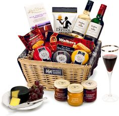 The Festive Treat Hamper by Regency Hampers
