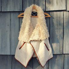 Arctic Cozy Sherpa Vest... www.spool72.com