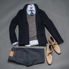 Outfit grid - Business casual
