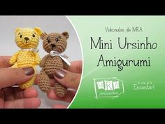 MINI URSINHO - MRA Artesanatos - YouTube