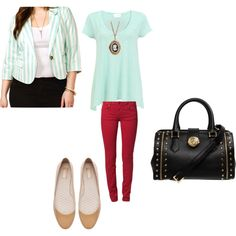 """""""mint"""" by silverwindow on Polyvore"""