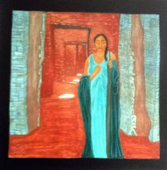 Angel of Chaco - Digital prints - Original Sold. Artist: Lisa Winner Inspired by a vist to Chaco Canyon, NM Digital Prints, The Originals, Artist, Angels, Painting, Etsy, Inspiration, Fingerprints, Biblical Inspiration