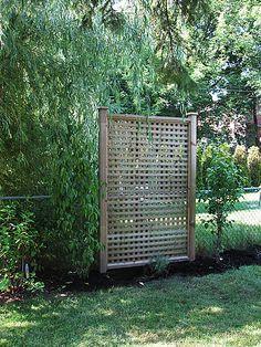 backyard privacy screen - Google Search