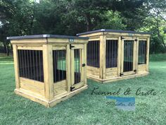 Sunshine!  This pair of indoor dog kennels is distressed Sun Salutation.  Add a lot of color and a bit of farmhouse!  We build them for all sizes!