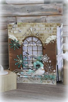 Mini Albums, Christmas Cards, Xmas, Minis, Planners, Journals, Creations, Scrapbooking, Paper Crafts
