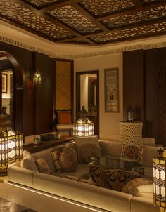 Living Room Decorating Ideas on a Budget - Moroccan Suite Living Room. #stregis…
