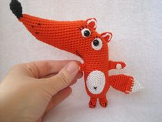 Crochet Fox / Mothers Day. Amigurumi Fox / Fox Baby / Woodland Animals / Fox Plush