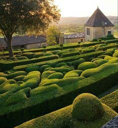 Perigord France :Marqueyssac  Gardens