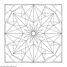 Coloring Mandalas: 04 Spinel Mandala Coloring Pages, Coloring Book Pages, Zentangle Patterns, Embroidery Patterns, Hand Embroidery, Fractal Geometry, Barn Quilt Patterns, Wood Carving Patterns, Zen Doodle