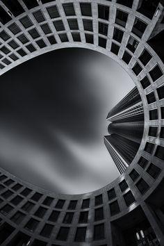 1X - the tower II by Bildwerker Freiburg